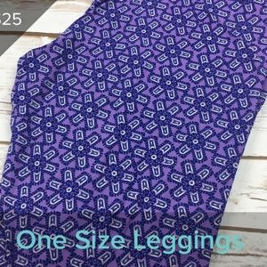 3/$20 new LuLaRoe OS leggings